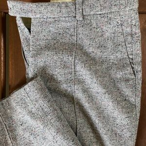 J.Crew Twill Cropped Pant, Size 4